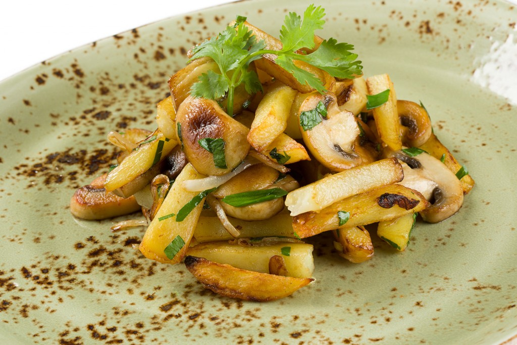 картофель гриб