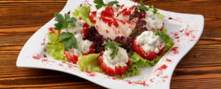 Сочные помидорки с сыром «Креметто»