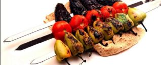 Ассорти овощи на углях