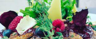 Микс-салат с телятиной